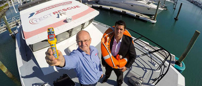 Local law firm answers mayday call from Tauranga Coastguard